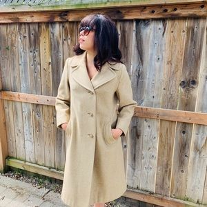 Jackets & Blazers - Vintage calf length coat